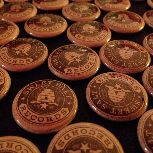 Sweet Salt Records Pinback Buttons