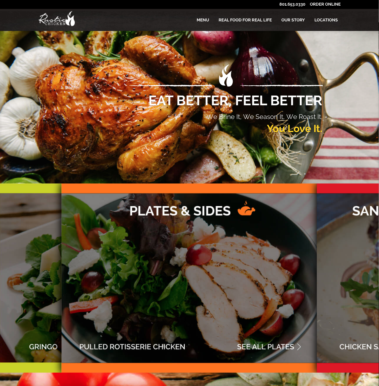 Rustic Chicken Home Page