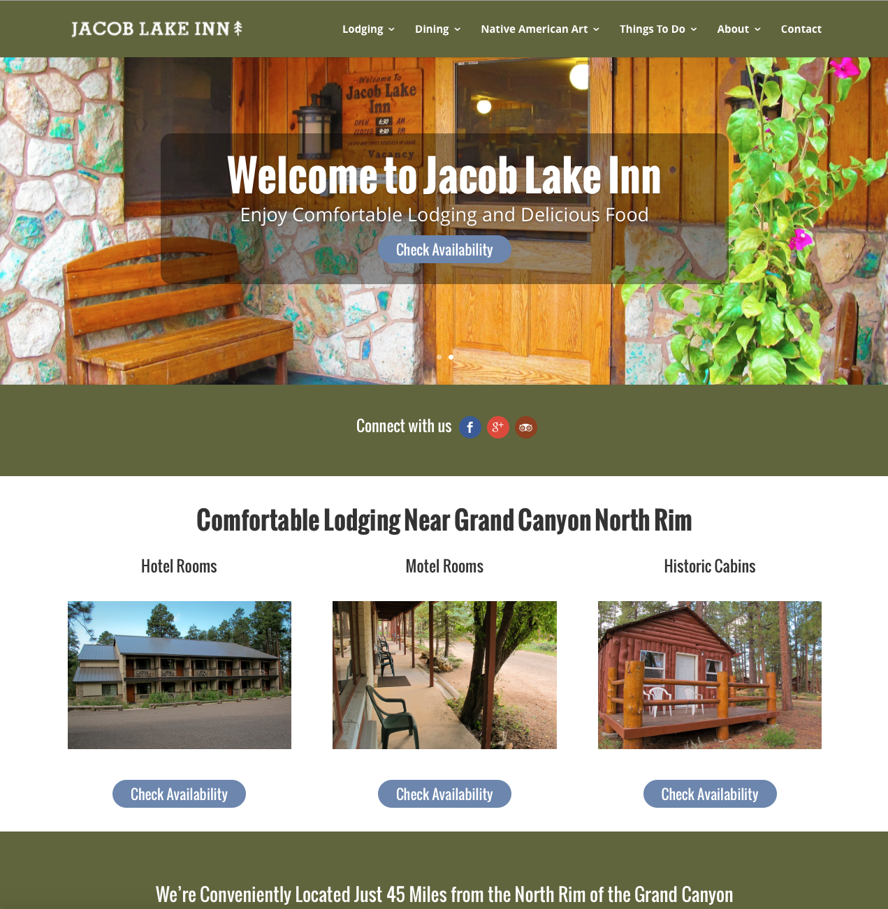 Jacob Lake Inn Home Page