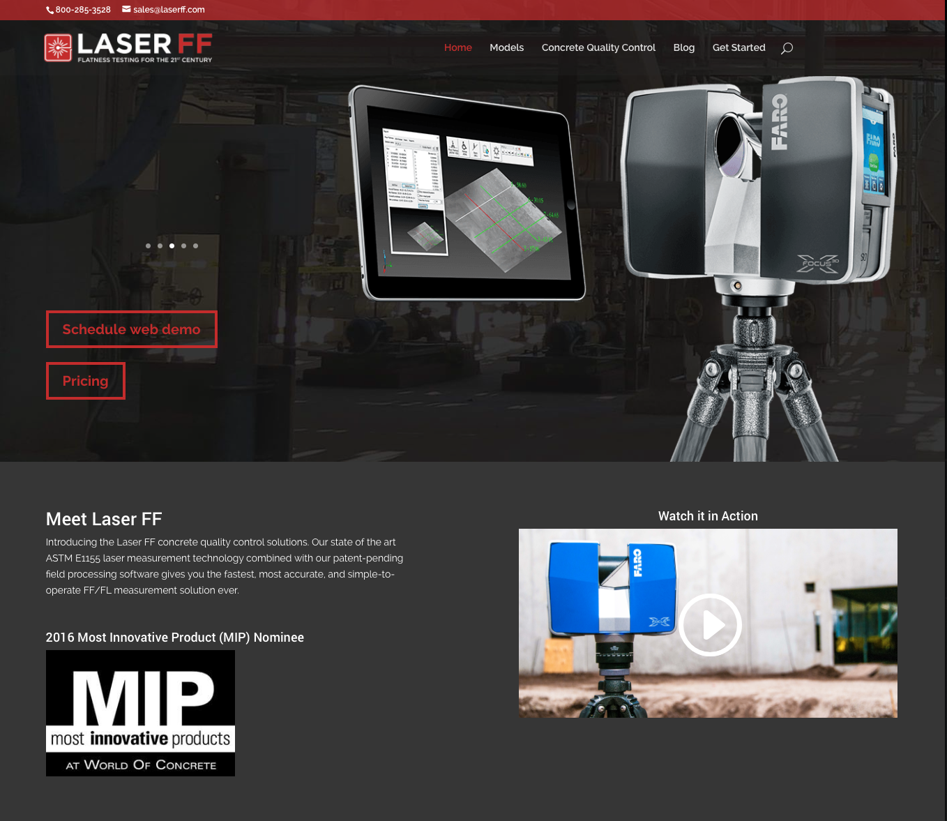 Laser FF Home Page