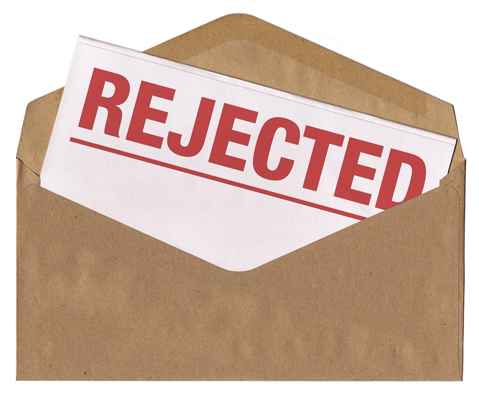 Too Many Rejection Letters