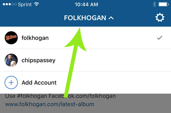 Finally! Instagram allow you to sign in to multiple accounts