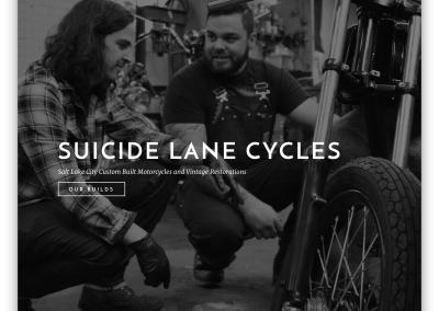 Suicide Lane Cycles