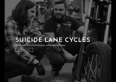 Suicide Lane Cycles