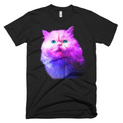 Simon Space Cat men's t-shirt