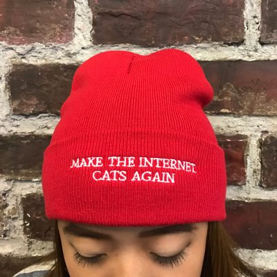 make-the-internet-cats-again-beanie