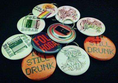 Folk Hogan bottle openers