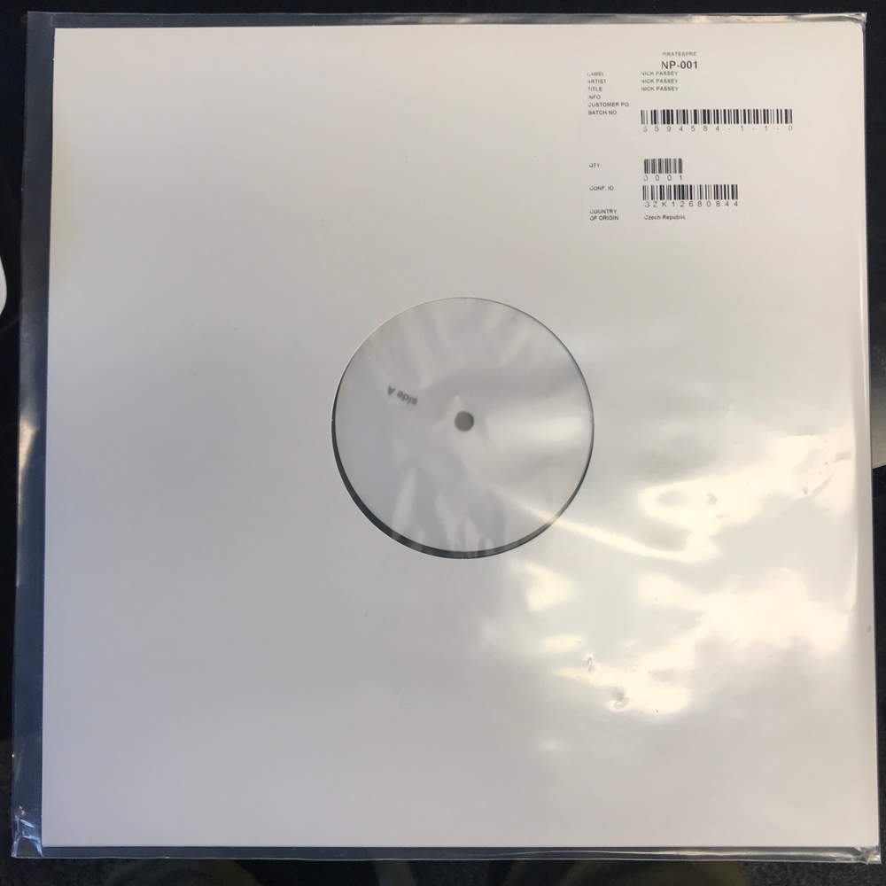 just working thru some shit vinyl record test pressing - http