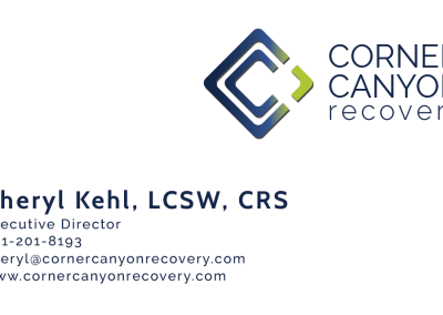 Corner Canyon Recovery Logo and Cards