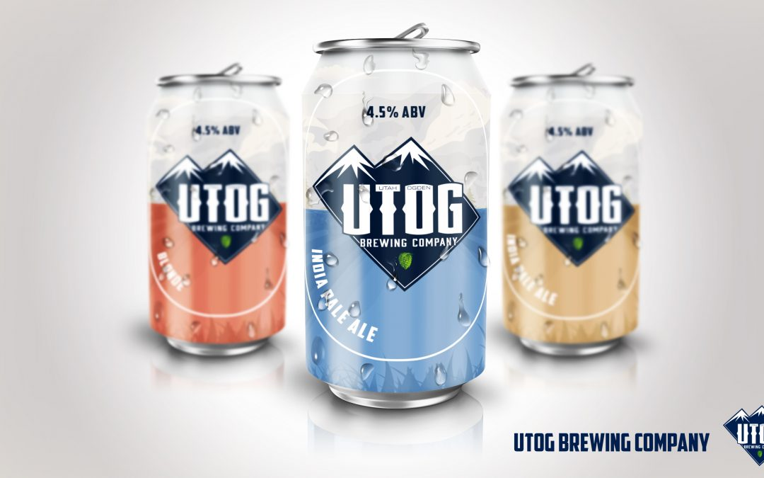 UTOG Beer Can Labels
